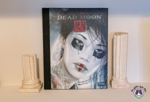 Libro de ilustraciones góticas Dead Moon del ilustrador Luis Royo