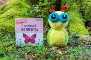 Reseña del libro infantil El nacimiento de una mariposa de la editorial VVKids - Método Montessori